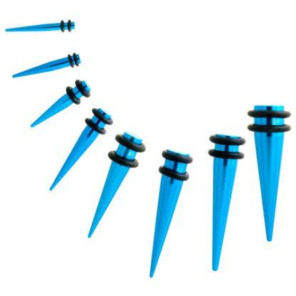 Arcane Fashions Light Blue Aluminium Tapers