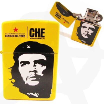 Yellow Che Guevara Print Windproof Lighter LGT ZP CHE 0