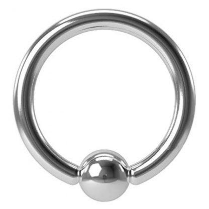 16g 8mm Surgical Steel Captive Bead Ring Septum Cartilage Eyebrow Lip Nipple Piercing Ear Hoops