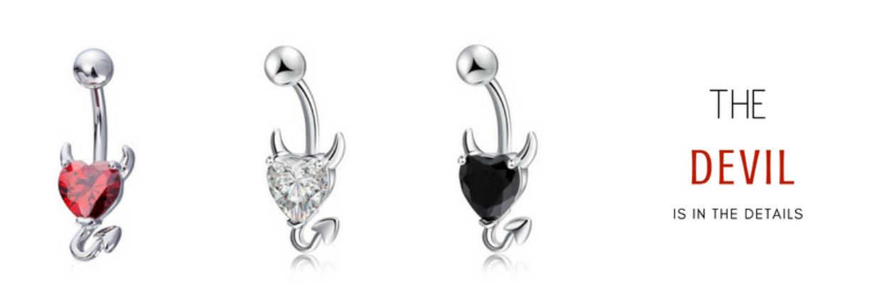 Devil In The Details   Buy Devil Jewellery & Body Jewellery Online