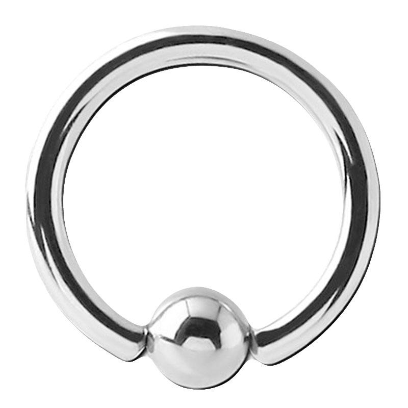 16g 6mm Surgical Steel Captive Bead Ring Septum Cartilage Eyebrow Lip Nipple Piercing Ear Hoops